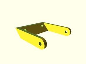 Rack Light Adaptor - Cantilever Brake Version