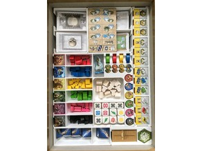 Oracle of Delphi game insert/organizer