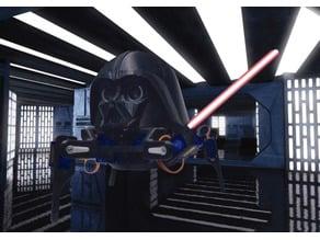 Quadruped Darth Vader Robot