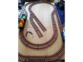 Tracks for TKTrain - A kBricks based train system