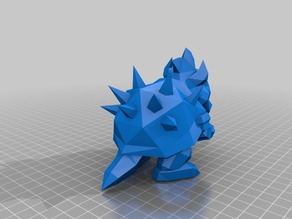 Low Poly Bowser