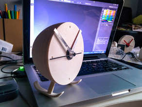 Heliclockter ! Desktop & Flying Clock