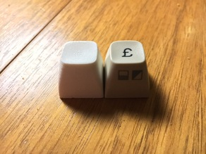 Commodore 64 replacement key