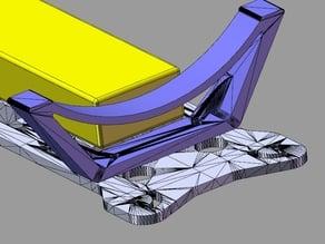 Hovership MHQ2 stronger landing leg