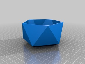 Low Poly Flower Pot