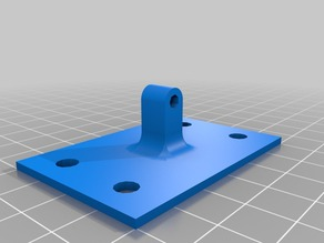 Rod assembly jig for Rostock printed u-joint rod ends