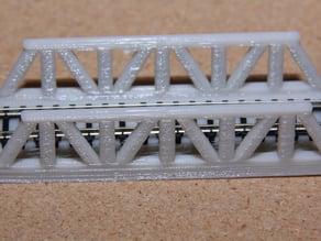 N scale train bridge
