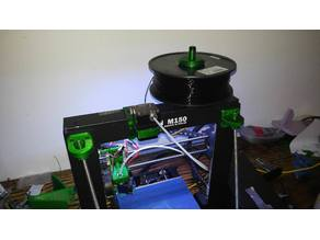 Malyan M150 top mount spool holder (should work with other I3 clones)