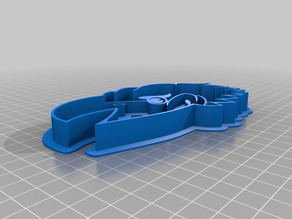 Jayhawks cookie cutter reinforced