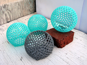 Spherical Container from Hexagons