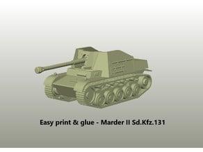 Easy print & glue - Marder II Sd.Kfz.131