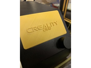 Creality CR-10 Screen Cover