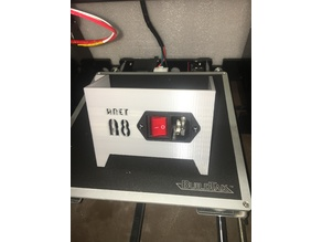 Anet A8 - Power Supply Cover with Horizntal Switch
