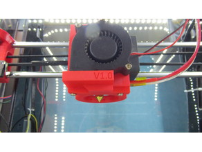 Fan duct for Tronxy P802E and other compatible printers