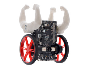 Beefy arms for Balboa balancing robot