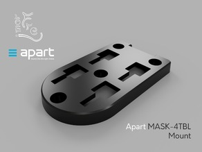 Apart MASK-4TBL mount