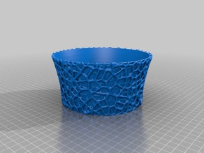 Easy to print voroni flowerpot large
