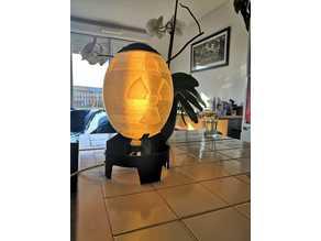 Mini nuke lamp from Fallout (for E14 bulb)