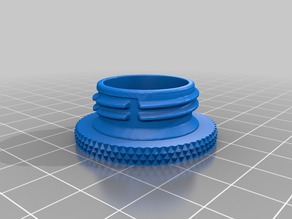 Knurled Cap Mount for .grip