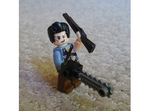 Boomstick Shotgun for Lego Minifigs