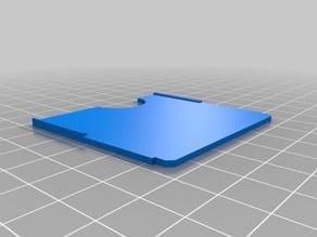 Spacer for older metal Akro-Mils storage drawers
