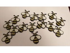 Multi color bee