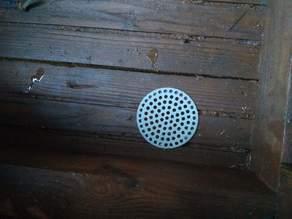 hole cover, ventilator (⌀72)