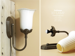 Classical wall lamp