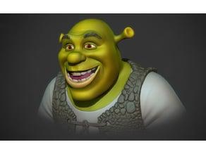 Shrek  3D print model