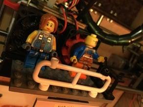 Replicator lego rail