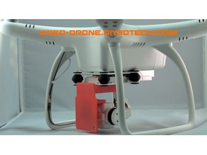 UPAir One / One Plus Gimbal Guard and Lock (Updated)!