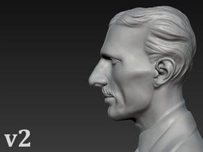 Bust of Nikola Tesla