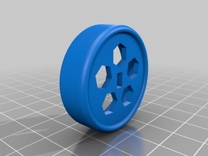 Drift tire 1/24 scale