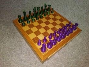 Chess set-alpaca knight