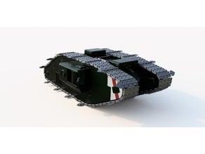 "Battlefield 1 ""Black Bess"" 30cm Printable Model"