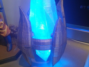 Protoss pylon with light