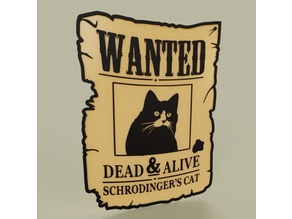 Wanted Schrodinder s cat dead and alive