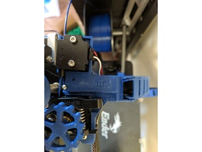 CR10/Ender 3 Extruder Chain with Filament Runout Mount