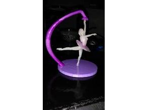 Spinning Ballerina in pieces