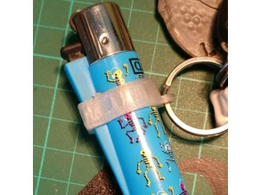 clipper holder keychain