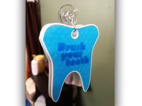 Brush your teeth hanger