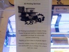 3D Printing Brochure