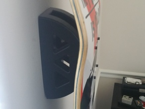 Skateboard Wall Mount For display