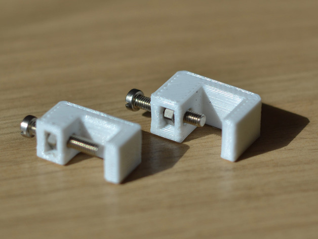 Metric mini g clamp by chewdonkey thingiverse