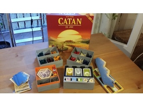Catan Box (Cities and Knights + 6 players)
