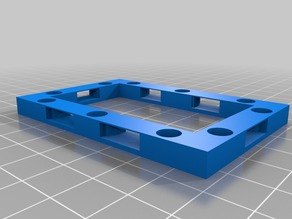 3x2 25mm Magnetic Openlock base for Openforge