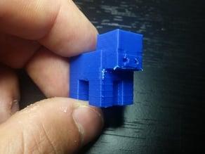 Small Minecraft Pig
