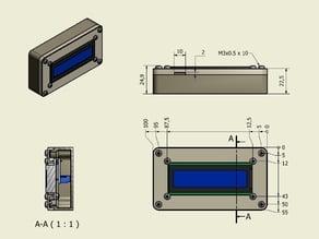 LCD HOUSING, 16x2