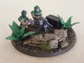 28mm soldiers with heavy weapons
