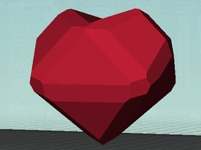 Low-Poly Heart